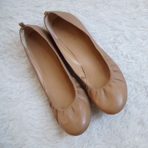 J.Crew Anya leather Ballet Flats